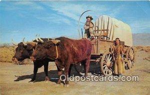 Ox Team Covered Wagon Unused