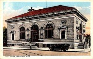 Michigan Menominee Post Office Curteich