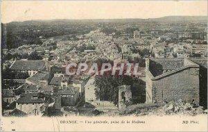 Old Postcard Orange General view taken of Madonna