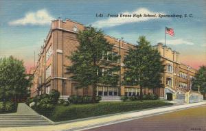 Frank Evans High School , SPARTANBURG , South Carolina , 30-40s