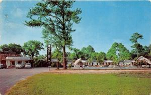 Hardeeville South Carolina~Magnolia Restaurant & Motel~Esther Williams Pool~1961