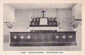 Ohio Old Washington Chapel Immaculata Academy Albertype