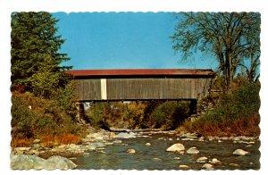 VT - Jeffersonville. Scott Covered Bridge Over Brewster River