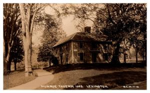 Massachusetts   Lexington , Munroe Tavern , RPC