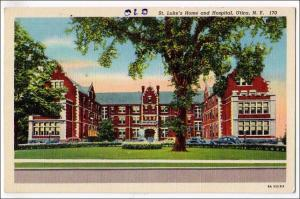 St Luke's Home & Hospital, Utica NY