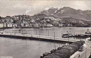 Switzerland Luzern mit Rigi Photo