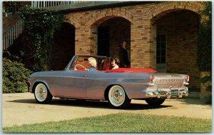1962 STUDEBAKER LARK DAYTONA CONVERTIBLE Postcard Automobile Advertising Unused