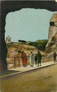 Algeria Constantine ethnic life monument aux morts