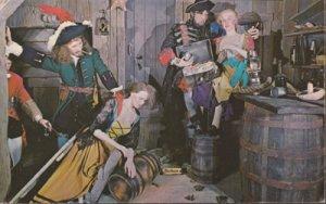 ST PETERSBURG FL - Jose Gaspar and PIRATE cronies at London Wax Museum, 1960s