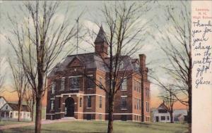 New Hampshire Laconia High School 1969
