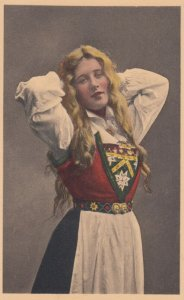 Girl of NORWAY , 1900-10s #2