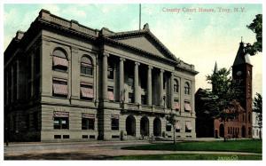 19437    NY  Troy, County Court House