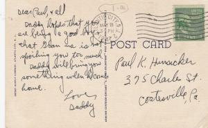 ATLANTIC CITY , New Jersey, PU-1947; Large Letters, 4-views