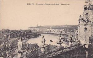 DIEPPE, Panorama, Vue prise de la Tour Saint-Jacques, New Brunswick, Canada, ...