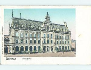 Pre-1907 HAUPTPOST Bremen Germany F5231
