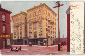 Odd Fellows Building, Springfield, Illinois - 19019 Postcard