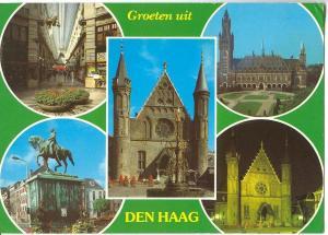 Netherlands, Groeten uit Den Haag, 1984 used Postcard