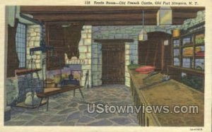 Trade Room-Old French Castle in Old Fort Niagara, New York