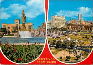 Modern Postcard Greetings from Cairo Souvenirs From Egypt