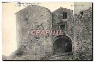 Old Postcard Eze Old Street