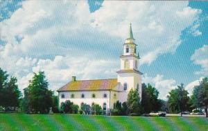 The U S Army Infantry Center Chapel At Fort Benning Georgia 1960