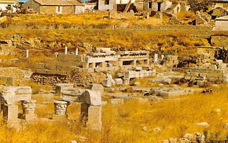 Ruins of ancient Corinth Greece, Grece Unused