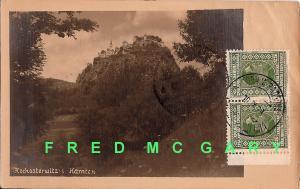 1927 Hochosterwitz Austria PC: Jugoslav Stamps, Gornja-Radgona Slovenia Cancels