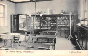 Princethorpe St. Mary's Priory, A Class Room