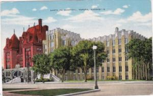 Kansas Topeka Santa Fe Hospital 1955