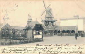 Germany Gewerbe und Industrieausstellung Düsseldorf 1902 04.23