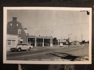 Mint USA Real Picture Postcard Customs Houses Sumas Washington