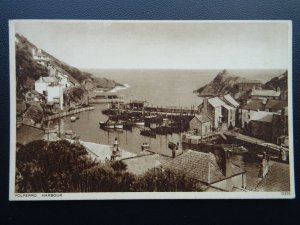 Cornwall POLPERRO Harbour - Old Postcard by Photochrom Co. Ltd
