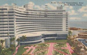 MIAMI BEACH , Florida , 1958 ; Fontainebleau Hotel