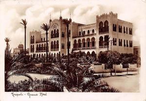 Libya Tripoli - Grand Hotel 1937