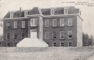 PRINCE ALBERT, Saskatchewan , Canada , 00-10s ; St. Alban College