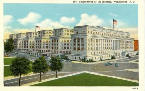 DC - Washington. Department of the Interior