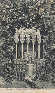 Antico Cortile E Capitello Del Palazzo Rufolo, Ravello (Campania), Italy, 190...