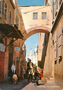 Via Dolorosa JerUSA lem Israel 1972