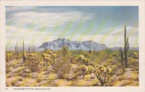 Arizona Phoenx Superstition Mountain
