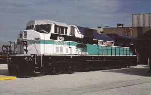 Union Pacific Railroad SD90MAC Unit Number 8204, LaGrange, Illinois, 1997