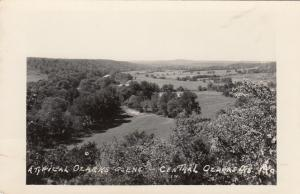 Real Photo, Beautiful View, Central Ozarks, Missouri, 1930-1940s