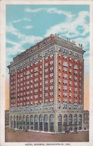 Indiana Indianapolis Hotel Severin 1941