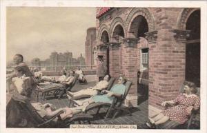 New Jersey Atlantic City The Senator Sun Deck