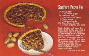 Ingredients for Southern Pecan Pie,40-60s