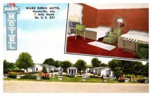 Alabama Huntsville , Wake Robin   Motel