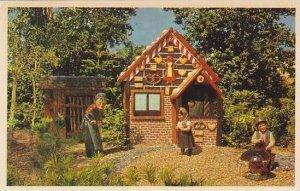 Florida Tampa Busch Gardens Hansel & Gretel Dwarf Village