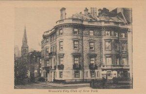 NEW YORK CITY, New York, 1900-10s; Women's City Club