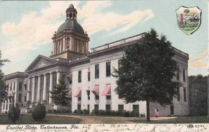 Florida Tallahassee Capitol Building 1908
