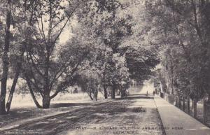 Driveway New York State Soldiers Home Bath New York Albertype