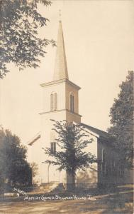Stillman Valley-Marion Twp Illinois~Baptist Church~c1910 M-L Photo RPPC